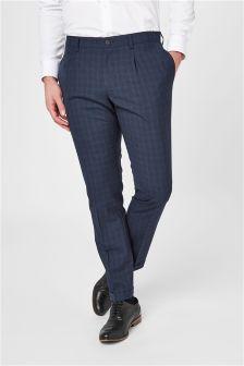 Модные брюки из смешанных шерстяных тканей