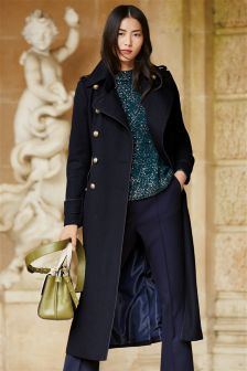 Women's coats and jackets Navy | Next Malta