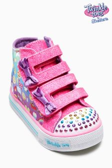 Skechers® Twinkle Toes Emoji High Top Shuffles
