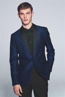 Textured Tuxedo Slim Fit Suit