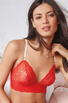 Daisy Non Wire Lace Bralet