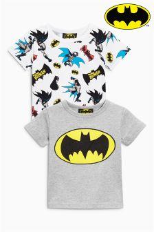 Koszulki z krótkim rękawem Batman® , dwie szt. w opakowaniu (3m-cy-6lata)