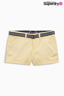 Superdry Pastel Lemon International Hot Short