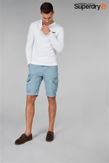 Superdry Blue Core Cargo Short