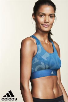 adidas Petrol Night Logo Bra
