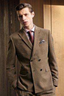织纹西装:外套