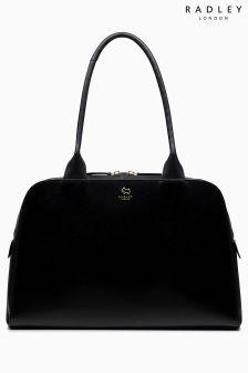 Radley Black Millbank Large Zip Top Tote Bag