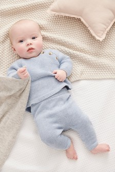 Knitted Two Piece Set (0mths-2yrs)
