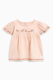 Cross Stitch Blouse (3mths-6yrs)