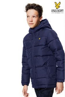 Lyle & Scott Down Quilted Coat