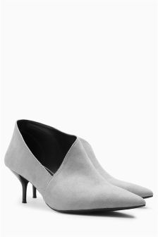 Asymmetric Shoe Boots