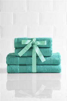 Juego de toallas de 4 piezas de Studio Collection By Next