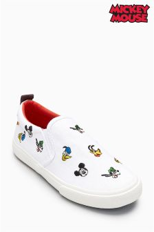 Mickey Mouse™ Slip-On Shoes (Younger Boys)