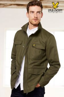 Lyle & Scott Olive Field Jacket