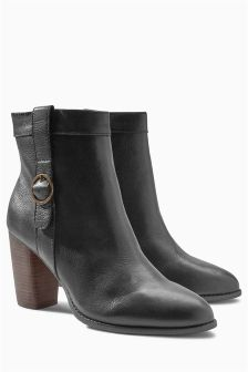 Casual Buckle Boots