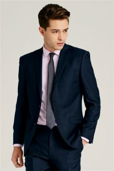 Machine Washable Birdseye Slim Fit Suit