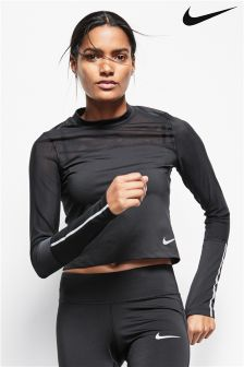 Nike Black Power Running Top