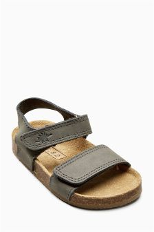 Smart Leather Corkbed Sandals (Younger Boys)