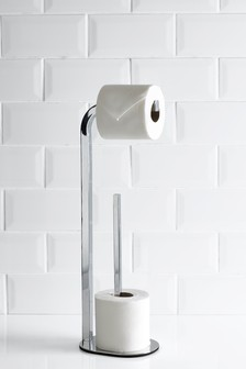 Loop Toilet Roll Stand And Store