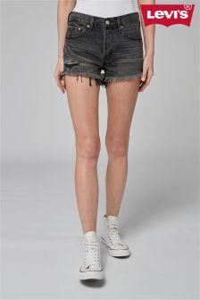 Levi's® 501 Slashed Black Short