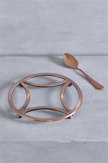 Copper Effect Trivet