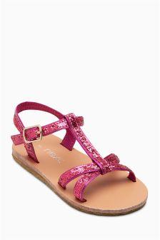 T-Bar Sandals (Younger Girls)