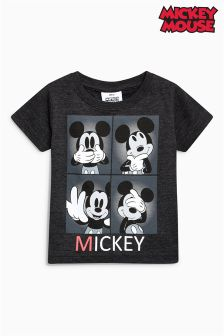 Short Sleeve Four Box Mickey Mouse™ T-Shirt (3mths-6yrs)