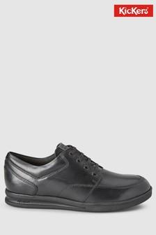 Kickers® Black Troiko Lace Shoe