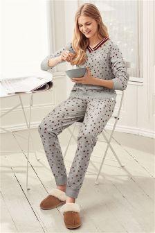 Star Print Pyjamas