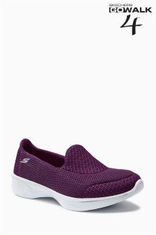 Skechers Berry Go Walk 4 Slip On Trainer