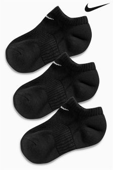 Nike Cotton Cushion No Show Socks Three Pack