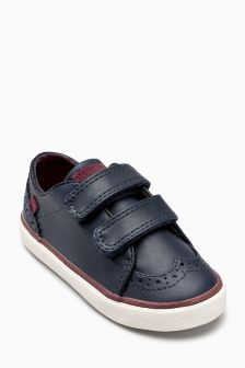 Double Strap Brogues (Younger Boys)