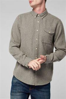 Long Sleeve Shirt With Wool