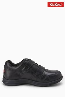 Kickers® Black Season Strap Shoe