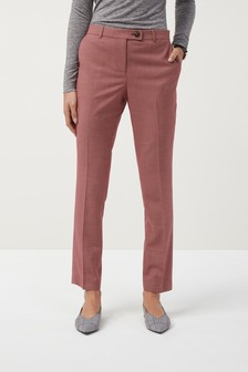 Sharkskin Taper Trousers