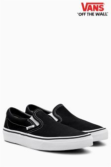 Vans Black Classic Slip On