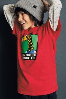 长颈鹿T恤 (3-16岁)
