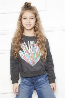 Cool To Be Kind Slogan Sweater (3-16yrs)