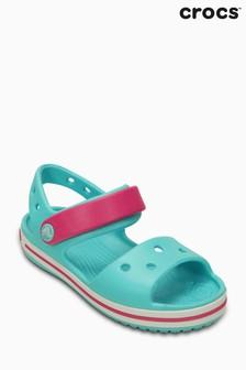 Crocs™ Turquoise/Candy Pink Crocband™ Sandal