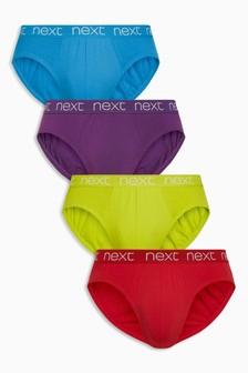 Colour Briefs Four Pack