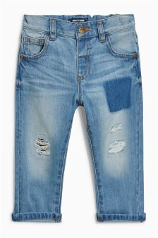 Patched Jeans (3mths-6yrs)