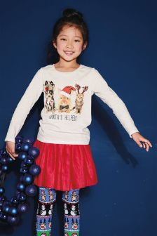 Christmas Long Sleeve Top (3-16yrs)