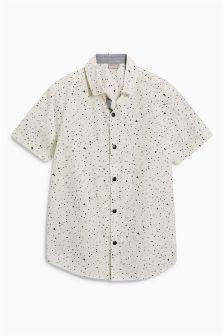 Chemise à manches courtes et éclaboussures de peinture (3-16 ans)