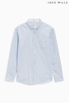 Jack Wills Blue Fine Stripe Shirt