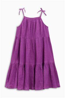 Gestuftes Kleid (3-16 Jahre)