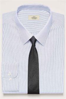 Stripe Regular Fit Shirt And Tie Set