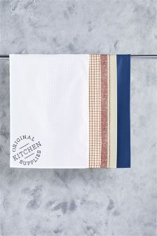 Set of 4 Scandi Tea Towels