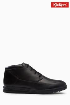 Kickers® Black Troiko Lace Boot