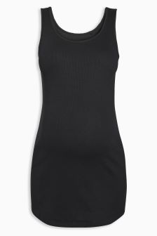 Maternity Basic Scoop Vest