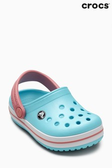 Crocs™ Ice Blue/White Crocband™ Clog